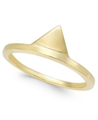 Thomas Sabo Triangle Ring In 18K Gold Plated Sterling Silver Yellow Gold