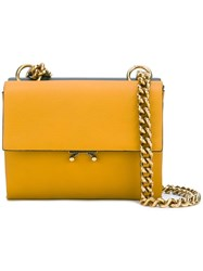 Marni Two Tone Crossbody Bag Yellow Orange