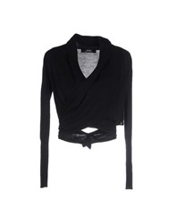 Alpha Massimo Rebecchi Knitwear Wrap Cardigans Women Black