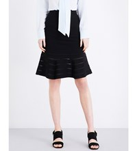 Sandro Aloha Knitted Skirt Black
