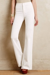 J Brand 2387 Tailored High Rise Flare Jeans Blanc