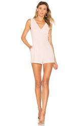 Bcbgeneration Simple V Romper Pink