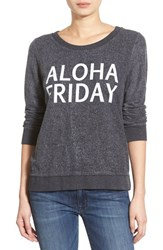 Women's Chaser 'Aloha Friday' Pullover Sweatshirt