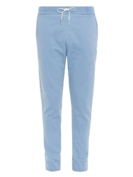 Tomas Maier Chambray Cotton Blend Track Pants