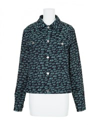 Julien David Jacket Indigo Green