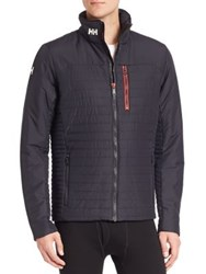 Helly Hansen Long Sleeve Quilted Jacket Ebony Navy