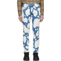 Burberry Indigo Bleached Jeans