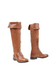 Julie Dee Boots Brown