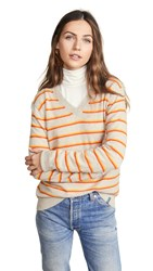 Kule The Camden Cashmere Sweater Sand