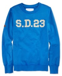 Superdry Men's Sweatshirt Cobalt Blue