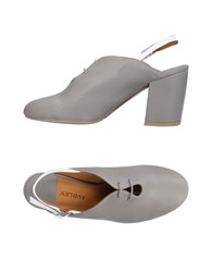 Audley Lace Up Shoes Grey