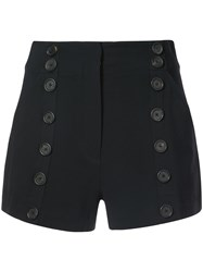 A.L.C. High Waisted Shorts Black