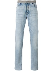 Maison Martin Margiela Re Edition Contrast Waistband Jeans Blue