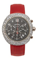 Taffin Diamond And White Gold Jimmy Watch Red