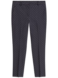 Gerard Darel Penny Trousers Navy Blue