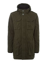 Calvin Klein Offshore Hd Long Padded Jacket Green