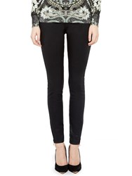 Ted Baker Skinny Wax Oil High Waisted Jeans Black