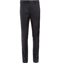 Acne Studios Drifter T Slim Fit Wool Tuxedo Trousers Blue