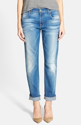 7 For All Mankind Relaxed Skinny Jeans Bright Skies Blue