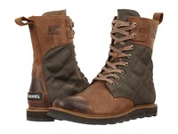 Sorel Madson Tall Lace Autumn Bronze Men's Waterproof Boots Brown