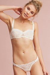 Anthropologie Mimi Holliday Carousel Thong Neutral