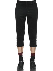 Dolce And Gabbana 18Cm Cropped Cotton Corduroy Pants