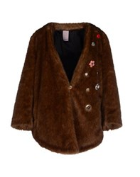 People Coats And Jackets Faux Furs Women