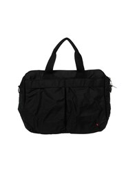 Red Collar Project Work Bags Black