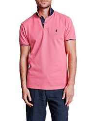 Thomas Pink Men's Brandon Plain Polo Shirt Navy And Navy And Pink