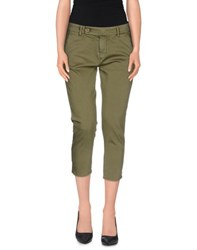 Truenyc. Trousers 3 4 Length Trousers Women