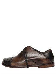 Peter Non Sinatra Leather Oxford Lace Up Shoes