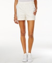 Rachel Roy Lace Pull On Shorts Only At Macy's White