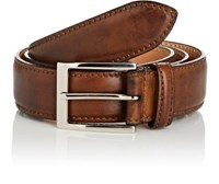 Harris Men's Smooth Leather Belt Brown Tan Brown Tan