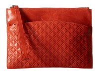 Hobo Noa Diamond Embossed Grenadine Handbags Orange