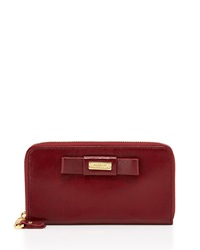 Badgley Mischka Sasha Shine Wallet Wine