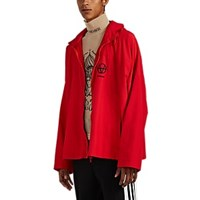 Vetements Logo Tech Faille Track Jacket Red