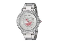 Betsey Johnson Bj00158 06 Shaky Heart Face Silver Watches