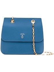 Mark Cross Francis Tote Women Leather One Size Blue