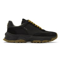 Coach 1941 Black C155 Panelled Runner Sneakers