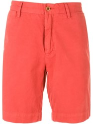 Polo Ralph Lauren Chino Shorts Yellow And Orange