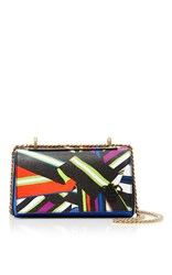 Emilio Pucci Foldover Crossbody Mini Multi