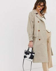 Whistles Paula Trench Coat Beige
