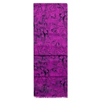 Hobbs Sketch Rose Scarf Lunaberry Purple