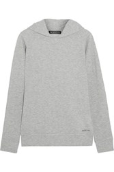 Bodyism Jessica Jersey Hooded Top Light Gray