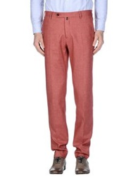 Marco Pescarolo Casual Pants Brick Red