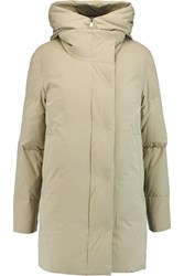 Dkny Padded Shell Hooded Coat Nude