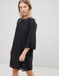 Minimum Moves By Spot Shift Dress Black
