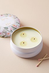 Anthropologie Spring's Eden Candle Pink