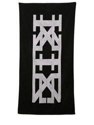 Ktz Reversible Logo Jacquard Cotton Towel