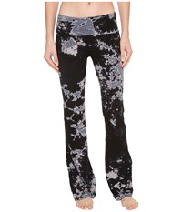 Hard Tail Rolldown Bootleg Flare Pants Two Color Iceberg Casual Pants Black